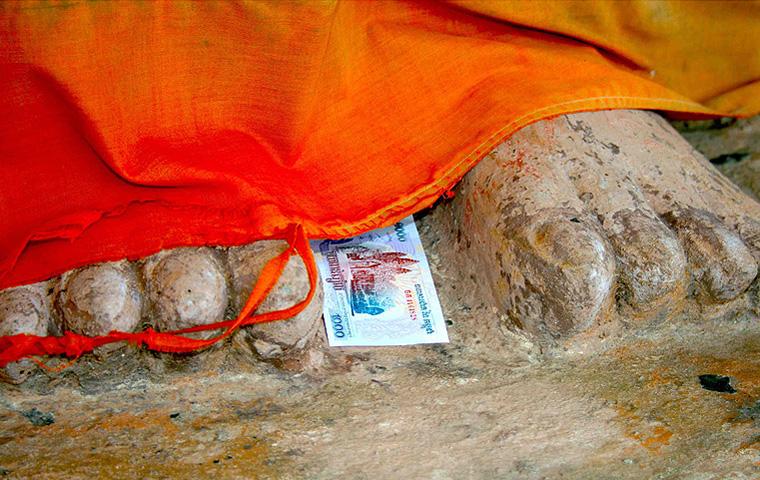 © Martina Miethig, Kambodscha, Buddha