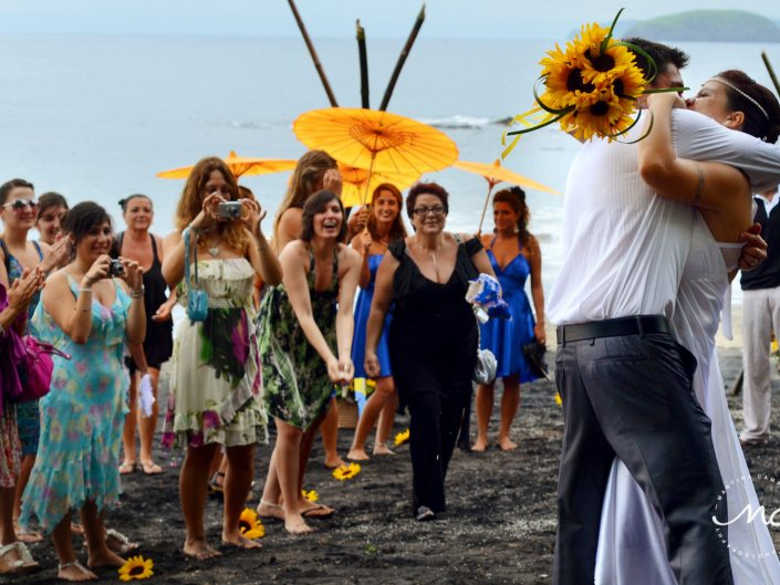 Playa Hermosa Wedding in Costa Rica