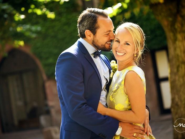 Heidelberg Castle Wedding. Bride and groom portraits. Martina Campolo Photography