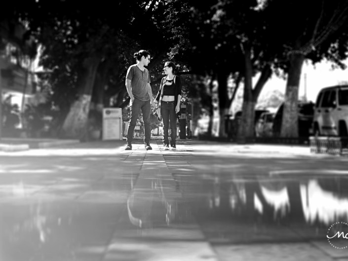 Engagement Session in Paseo Montejo Merida, Yucatan, Mexico by Martina Campolo Photography