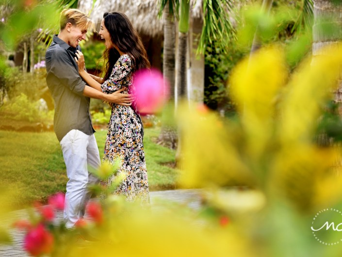 Engagement Photos at Paradisus Palma Real, Punta Cana, DR. Martina Campolo Photography