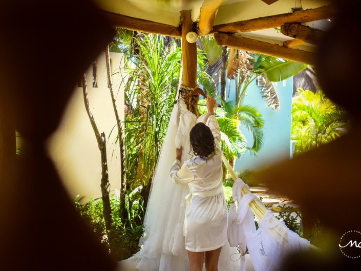 Mahekal Beach Resort Wedding in Riviera Maya, Mexico. Martina Campolo Photography