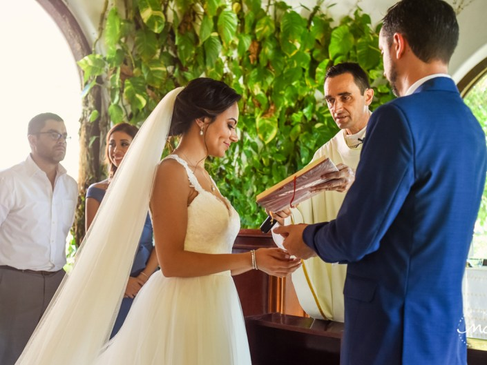 Nuestra Señora del Carmen Wedding in Playa del Carmen. Martina Campolo Photography