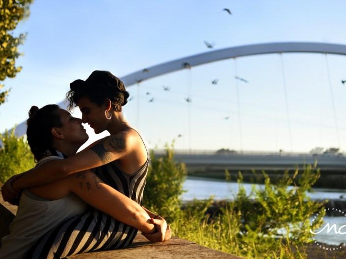 LGBTQ Engagement Portraits. Ponte Meier Alessandria, Italy. Martina Campolo Photographer