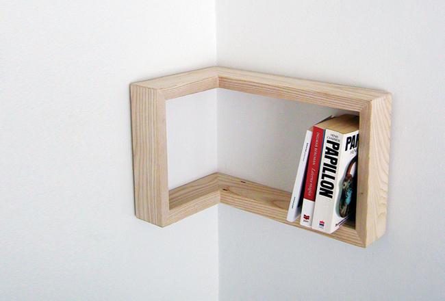martina carpelan corner bookcase storage shelf