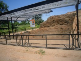 The well-kept and very interesting Sri Ksetra Archaeological Site
