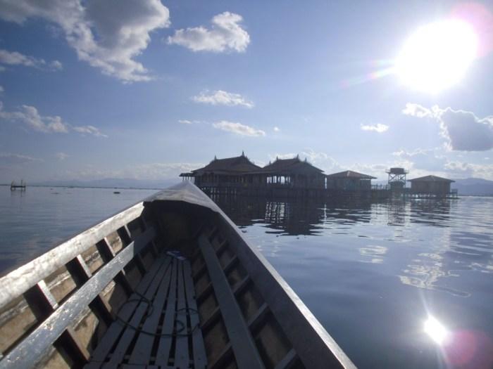 A beautiful boat ride on Inle Lake
