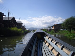 Riverside villages around Inle Lake