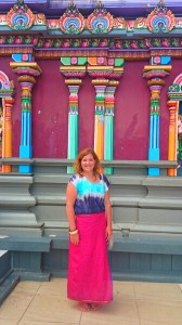 Me at the Hindu Temple in Nadi