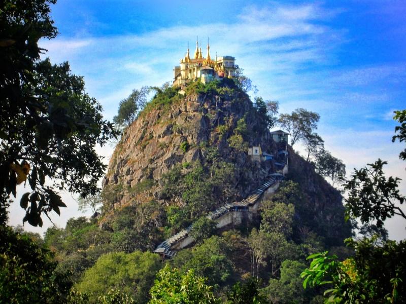 Mt Popa, Myanmar