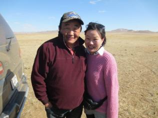 Oji and Sanje, our guide/translator and driver