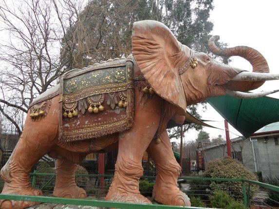 The Nimmitabel Elephant - image credit Wikimedia Commons.