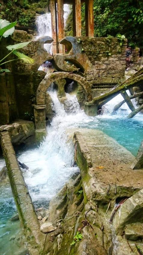 The pools at Las Pozas