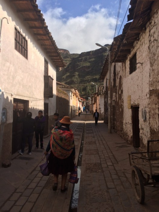 Lovely streets in Pisac