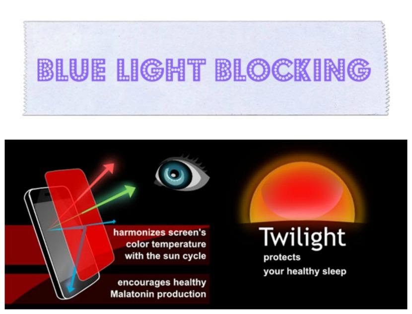 blue light blocking hff