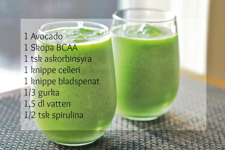 grönkål smoothie recept