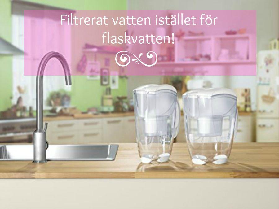 filtrerat vatten