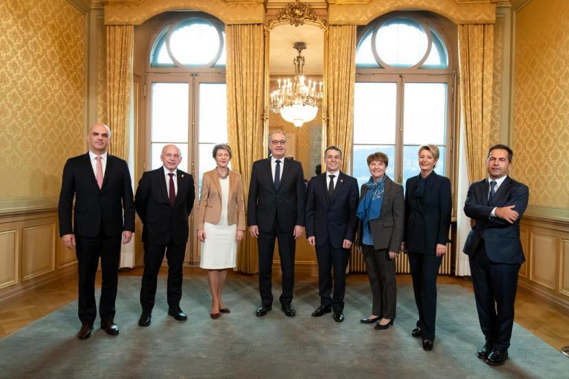 Neue Gesichter im Bundesrat