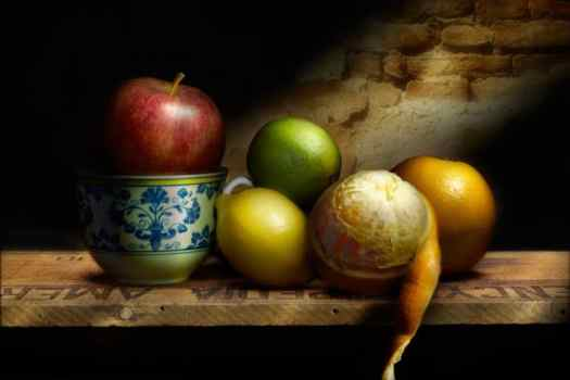 Fruit With Cup © Curtis Hustace