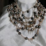 necklace, jewelry, tahitian pearls