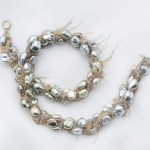 Natural Keshi pearl necklace, jewelry,