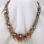 Keshi pearls, Necklace, jewelry