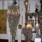 Chandeliers, Mixed media Assemblage