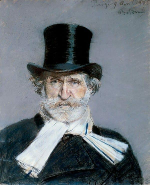 Verdi por Giovanni Boldini
