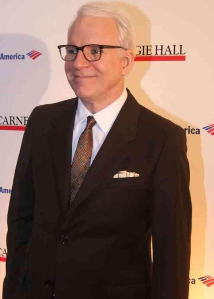 Steve Martin en el 2011. Fuente: Wikipedia. Autor: Joella Marano