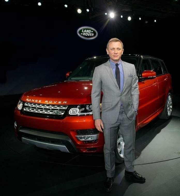 Daniel Craig. Fuente: flickr. Autor: Land Rover MENA