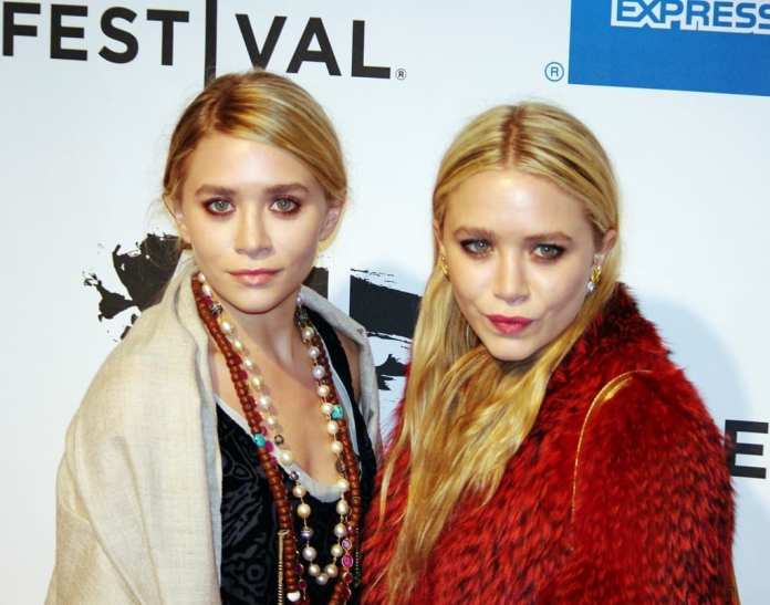 Mary-Kate y Ashley Olsen. Fuente: Wikipedia. Autor: David Shankbone