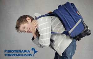 Fisioterapia Torremolinos alerta del riesgo al que están sometidos niños con el peso de sus mochilas