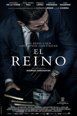 """Poster for the movie """"El reino"""""""