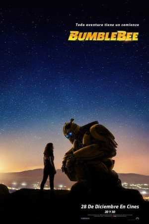 """Poster for the movie """"Bumblebee"""""""