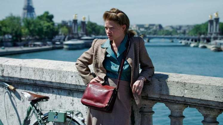 "Image from the movie ""Marguerite Duras. París 1944"""