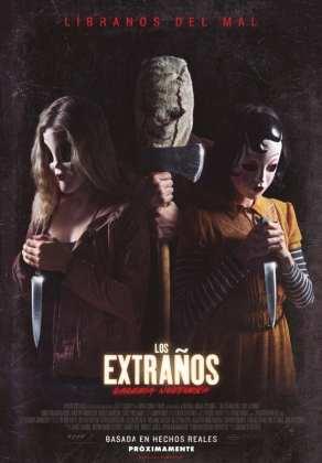 """Poster for the movie """"Los Extraños: Cacería Nocturna"""""""