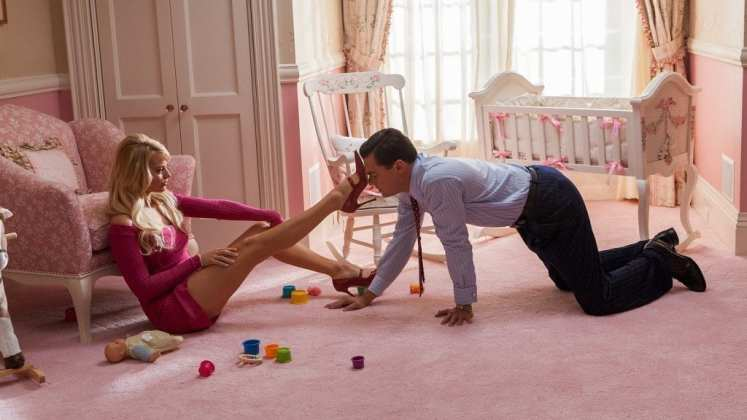 "Image from the movie ""El lobo de Wall Street"""