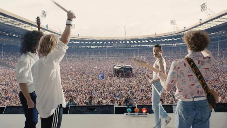 """Image from the movie """"Bohemian Rhapsody"""""""