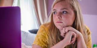 "Image from the movie ""Eighth Grade"""