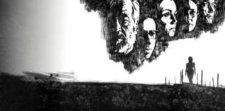 """Image from the movie """"Al otro lado del viento"""""""