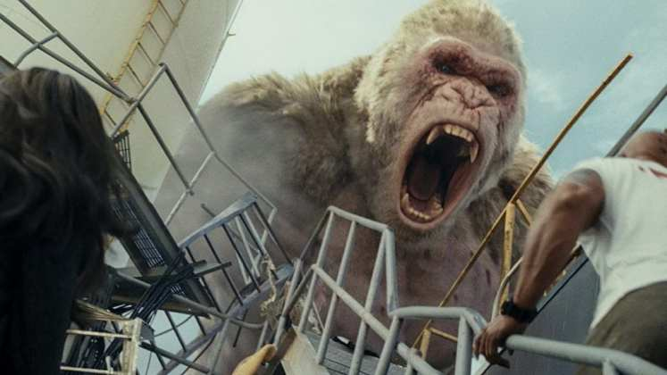 "Image from the movie ""Proyecto Rampage"""
