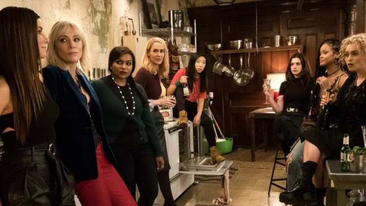 "Image from the movie ""Ocean's 8"""