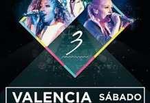Sweet California en concierto en Valencia el 13 de octubre de 2018
