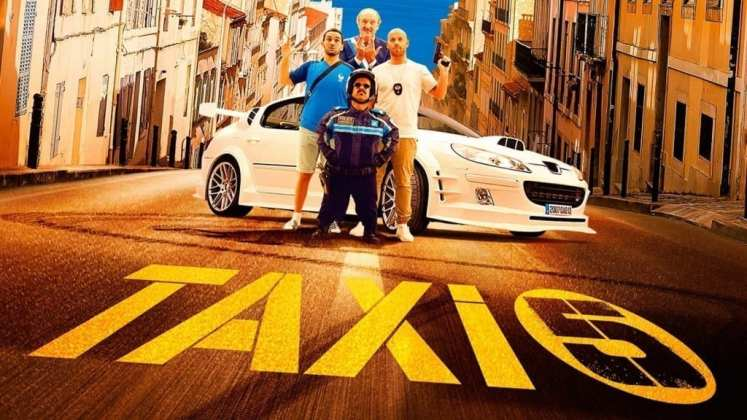 """Image from the movie """"Taxi 5"""""""