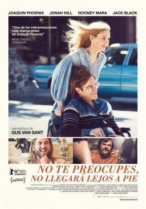 """Poster for the movie """"No te preocupes, no llegará lejos a pie"""""""