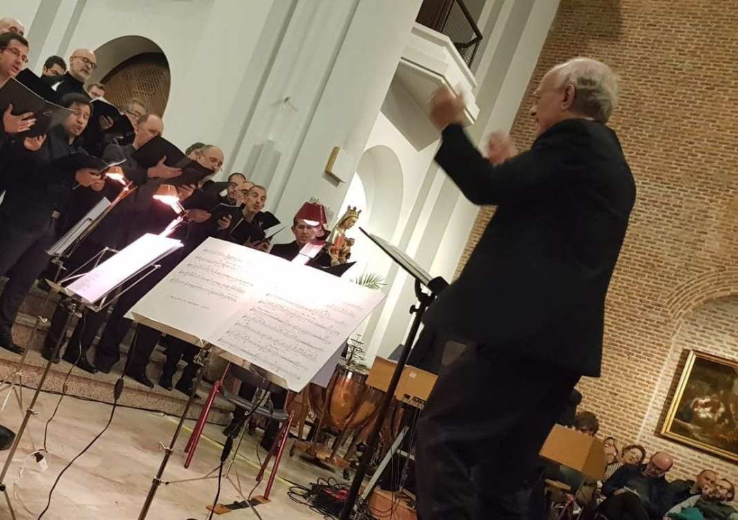 John Rutter dirige al Coro EOI en Madrid