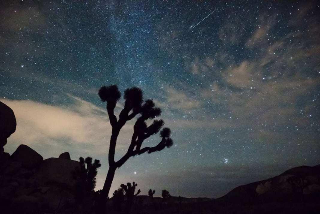 Este fin de semana, los amantes de la observación astronómica tienen una cita con la lluvia de estrellas de las Leónidas. Image Credit: NASA/National Park Service/Brad Sutton