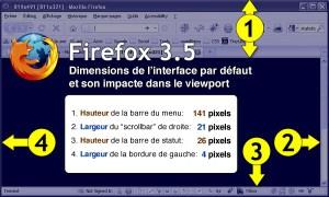 Viewport du fureteur Firefox 3.5