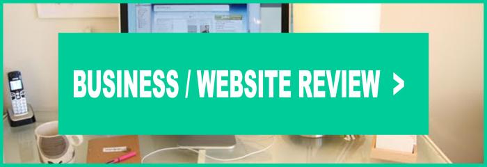BUSINESS WEBSITE REVIEW