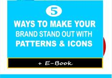 5 Ways to Make Your Brand Stand Out With Patterns and Icons